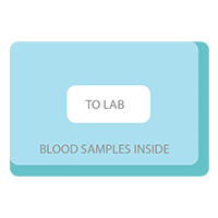 how cord blood banking works - send to lab
